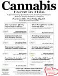 Cannabis Event Held in Hilo May 6th, 2016