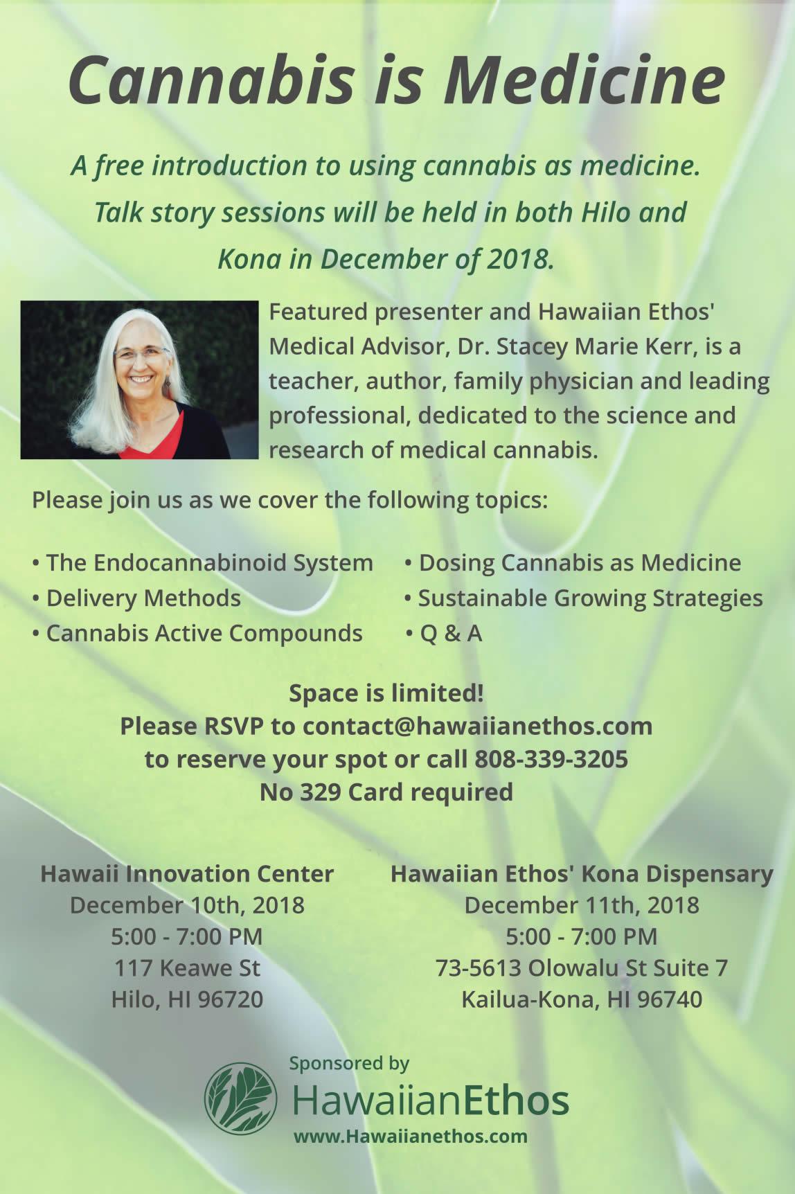 Hawaiian Ethos Cannabis Dispensary Event