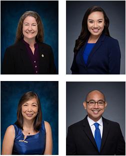 Photos of Hawaii Legislators on Medical Cannabis Day 2021