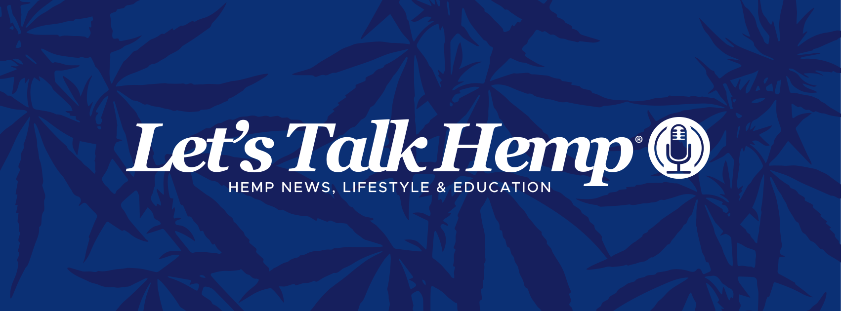 Let's Talk Hemp blue sponsor logo